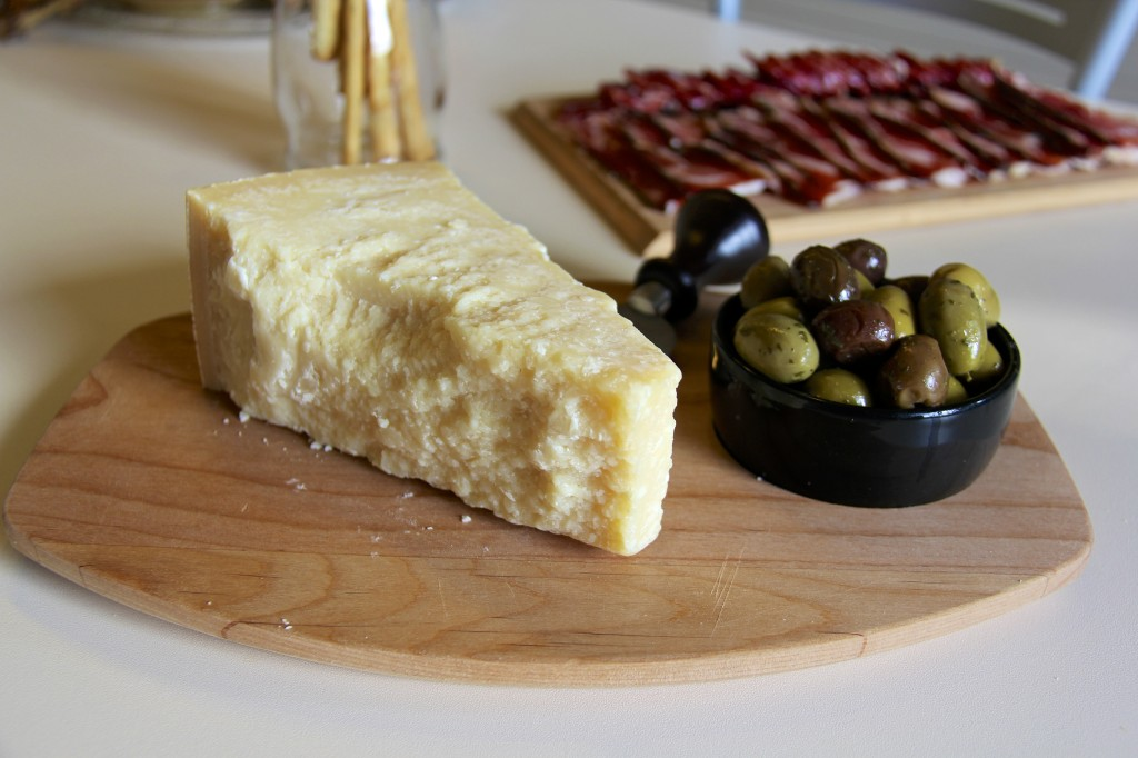 Italian Antipasti (Parmigiano and Olives)