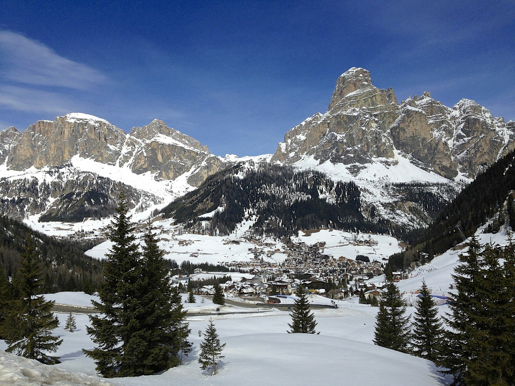 Val Stella Alipina mountain in the Dolomites