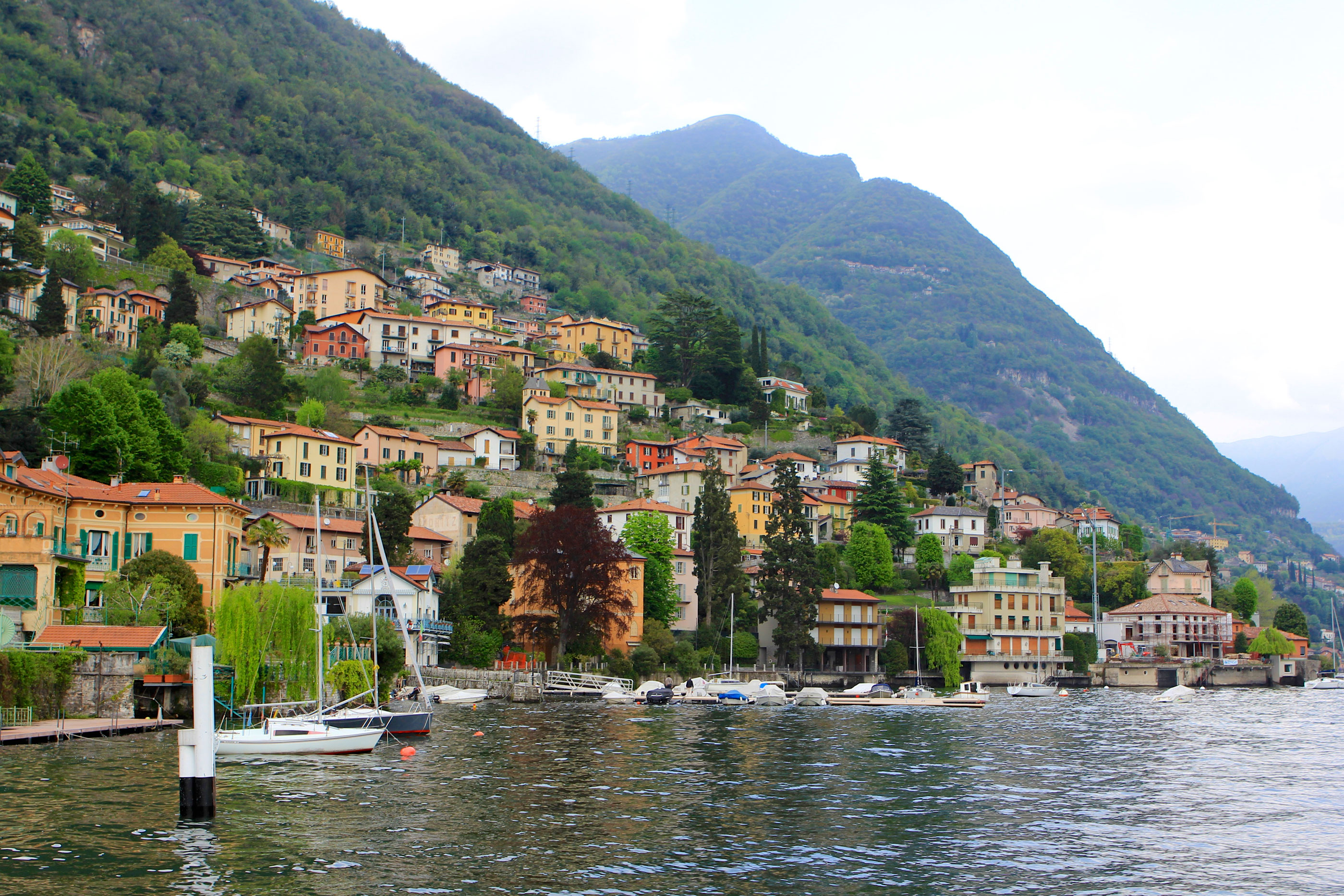 Lenno Sits Along the Shores of Lake Como