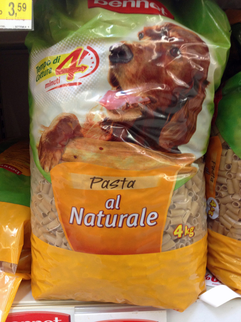 Pasta Naturale for Fido