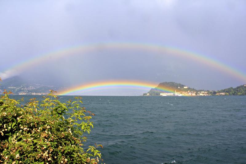 Double rainbow...DOUBLE RAINBOW!