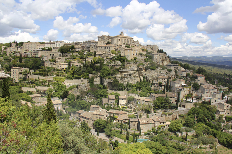 The hillside village of Gordes is absolutely amazing
