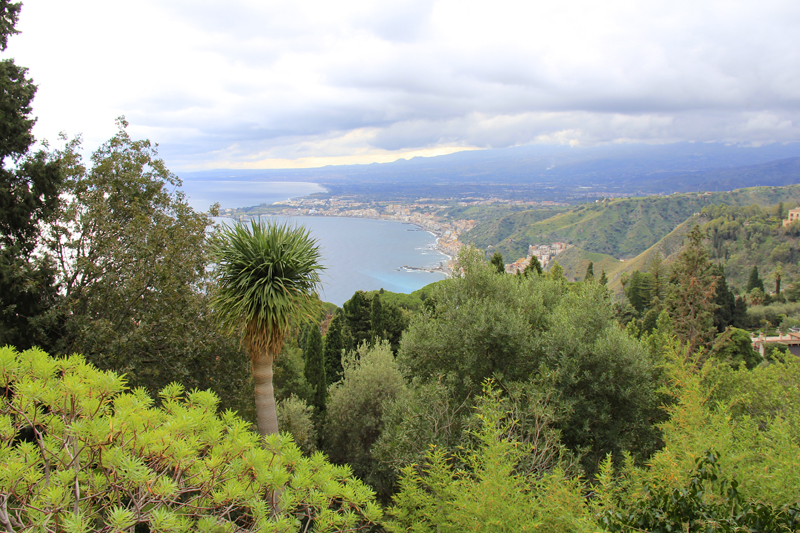 Taormina has beautiful coastline and wonderful beaches