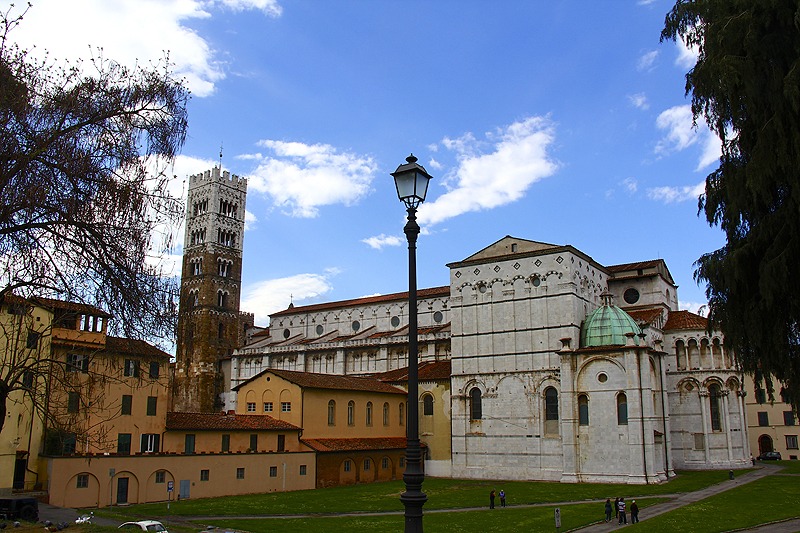Lucca viewed from the city walls