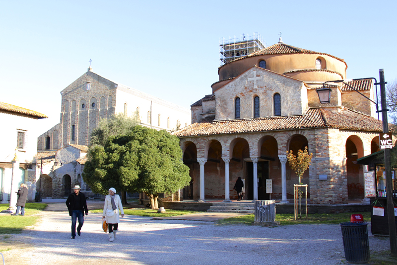 Santa Maria Assunta (left) and Santa Fosca (right)