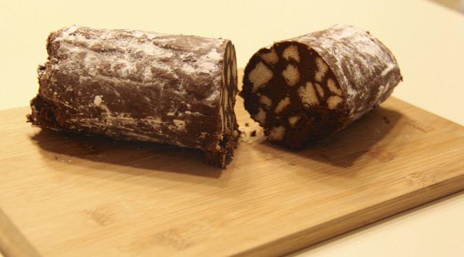 Fun With Food ~ Chocolate Salami