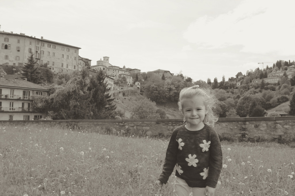 Julia enjoyed her day in Bergamo