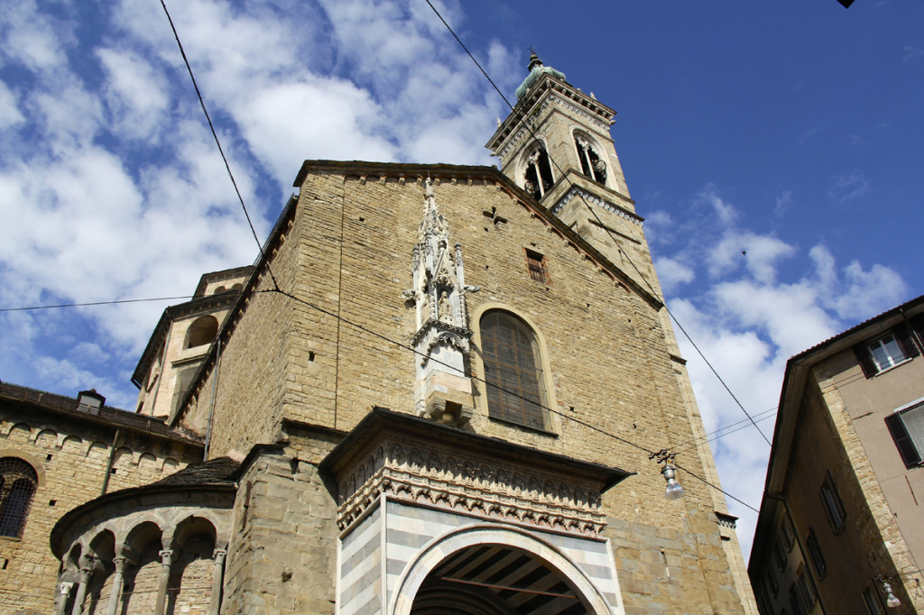 One of the churches in the main piazza